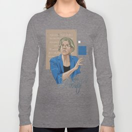 """""""Nevertheless, She Persisted"""" Long Sleeve T-shirt"""