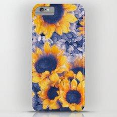 Sunflowers Blue Slim Case iPhone 6 Plus