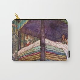 Princess and the Pea By Edmund Dulac Carry-All Pouch