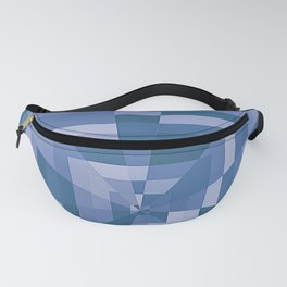 Blue Tunnel Fanny Pack