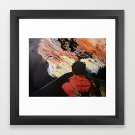 Keiki Framed Art Print
