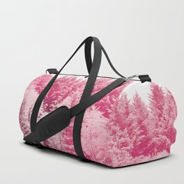 Candy pine trees Duffle Bag