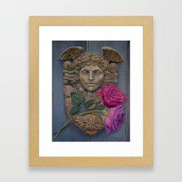 Gabriel's Door Framed Art Print