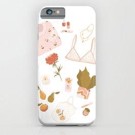 Girly stuff iPhone Case