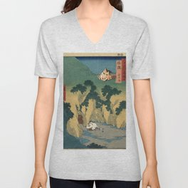 Sado Cave of Two Lovers Unisex V-Neck