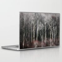 ohio Laptop & iPad Skins featuring Ohio Trees by David Pringle