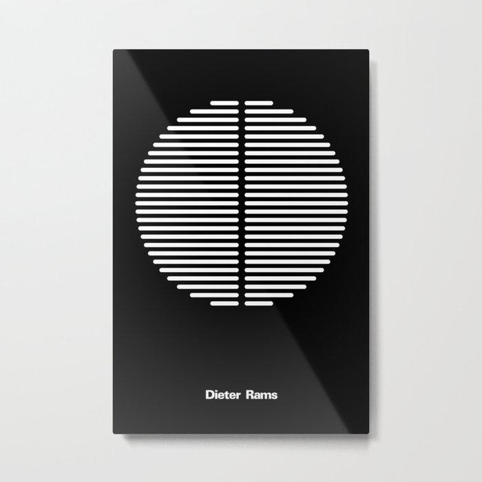 DIETER RAMS Metal Print