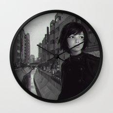 Shibuya River Wall Clock