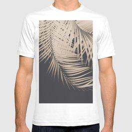 Palm Leaves Sepia Vibes #1 #tropical #decor #art #society6 T-shirt