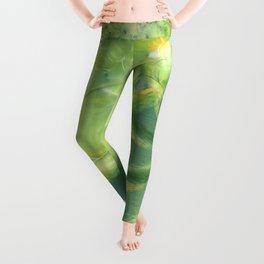 The green Brain Leggings