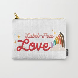 Label Free Love  inspired by The L Word Carry-All Pouch