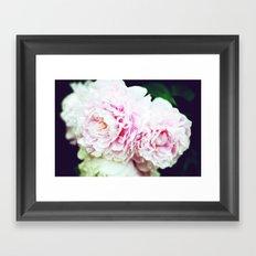 Peony Garden Splendor I Framed Art Print