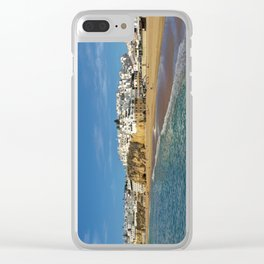 Albufeira in winter Clear iPhone Case