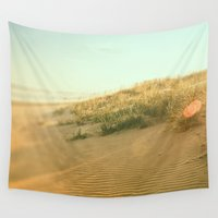 dune Wall Tapestries featuring Beach Dune  by Carl Christensen
