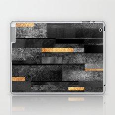 Urban Black & Gold Laptop & iPad Skin
