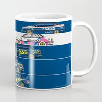 subaru Mugs featuring Colin McRae, The Subaru Years by Ricardo Santos