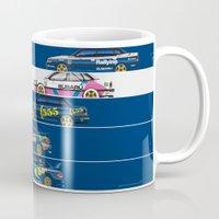 subaru Mugs featuring Colin McRae, The Subaru Years by Ricardo Santos