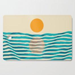 Ocean current Cutting Board
