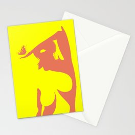 Woman #14 Stationery Cards