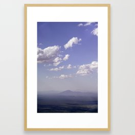 Hazy Shadows Framed Art Print