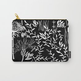 nature in black Carry-All Pouch
