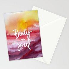 Body & Soul [Collaboration with Jacqueline Maldonado] Stationery Cards