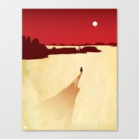 red dead redemption Canvas Prints featuring Top 3 Games 2010: Red Dead Redemption by Brad VandenBerg