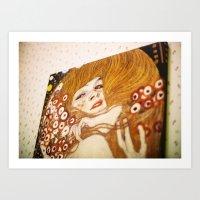 ikea girl Art Print