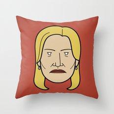 Face of Breaking Bad: Skyler White Throw Pillow