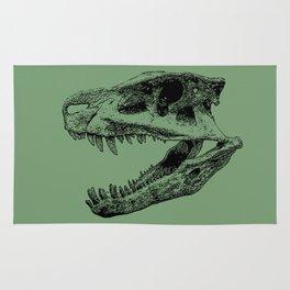 Postosuchus Skull II Rug