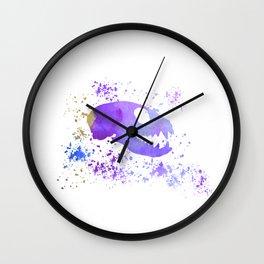 Meerkat Skull Wall Clock