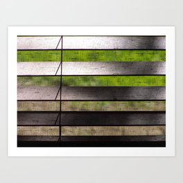 Blinds #2 Art Print