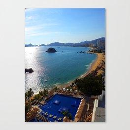 Acapulco Beach Canvas Print