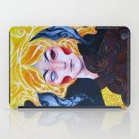 warrior iPad Cases featuring Warrior by Ma. Luisa Gonzaga