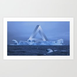 Polar Life Art Print