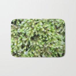TEXTURES -- Moss on a Tree Trunk Bath Mat
