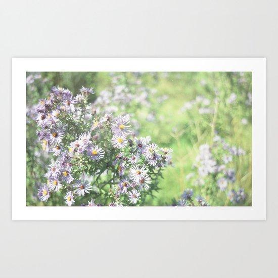 Flowers and Stuff Art Print