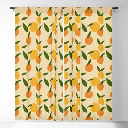 Mangoes in autumn Blackout Curtain