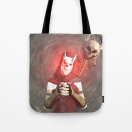 Red Foxxya Tote Bag