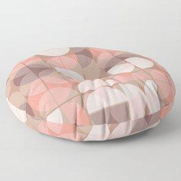 Lunes en rose Floor Pillow