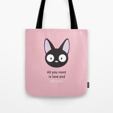 All you need is love and meow! Tote Bag