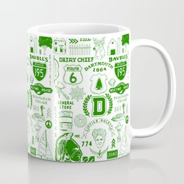 Dartmouth Massachusetts Print Coffee Mug