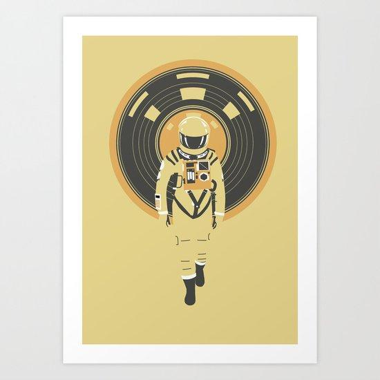 DJ HAL 9000 Art Print