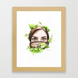 Hiedra Framed Art Print