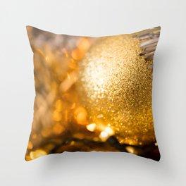 Golden Cheer III Throw Pillow