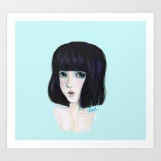 akiko Art Print