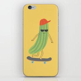 cool as a cucumber iPhone Skin