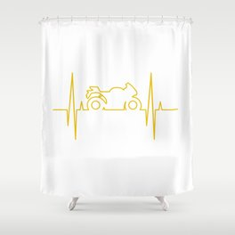 Electromoto Shower Curtain