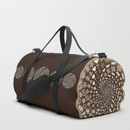 Coffee Lovers Mandala Duffle Bag