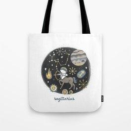 Sagittarius Fire Tote Bag